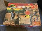 Jurassic Park 1993 Command Compound Playset W Box Complete