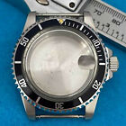 Retro Glass Watch Case 395MM Watch Case for NH35 NH36 Mechanical Movement Parts