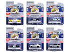 HOT PURSUIT SERIES 38 SET OF 6 POLICE CARS 1 64 DIECAST BY GREENLIGHT 42960