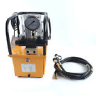 750W 7L Electric Driven Hydraulic Pump Double Acting Solenoid Valve 2 70Mpa 110V
