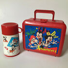 Animaniacs Vintage 1994 Aladdin Plastic Lunch Box And Thermos Made in USA