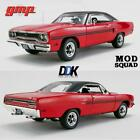 GMP 18941 1970 PLYMOUTH GTX RED THE MOD SQUAD TV SERIES DIECAST MODEL CAR 118
