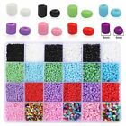 Loose Spacer Beads Charm Czech Glass Seed Bead DIY Necklace Making Kit 1 Box Set