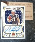 2010 PANINI CROWN ROYALE ROB GRONKOWSKI AUTO 16 50 PATCH ROOKIE DIE CUTS