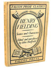 Henry Fielding John Had Fielding SCENES AND CHARACTERS 1st Edition 1st Printin
