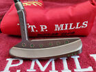 Rare TP Mills Hand Made Hand Stamped Custom Putter 35 348G MINTBeautiful