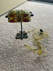 Dragonfly Tiffany Style Stained Glass Desk Accent Lamp