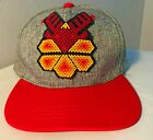 BASBALL HAT MEXICAN BEADS MEXICO SNAPBACK HUICHOL NATIVE AMERICAN AZTEC REINDEER