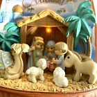 Precious Moments Gift Of Love Nativity LED Light Up Figurine MINT