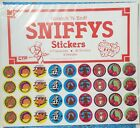 Sniffys Scratch n Sniff Display Card ORG PKG 36 stickers total 3 sheets