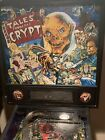 Tales From The Crypt Pinball Machine Data East LED HBO Cryptkeeper