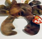 Ty Beanie Babies Claude the Crab 1996 With Tags Vintage Plush