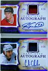 2020-21 Leaf In the Game Used Hockey Cards 14