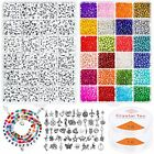 4000pcs Beads for Bracelets Making Kit Glass Seed Beads for Jewelry Making
