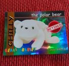 CHILLY (RED) Ty Beanie Baby/Babies Collector's Club Trading Card Series 1, 1998