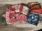 Med Priority Box of Cotton Quilting Fabric Over 11 yards total Dog Theme