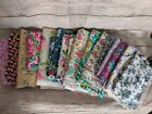 Med Priority Box of Cotton Quilting Fabric Over 12 yards total floral Theme