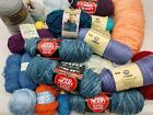 12 LBS Mixed Yarn Lot Assorted Colors Mostly Acrylic Knitting Crochet Needles