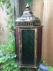 Moroccan Style Candle Holders Lanterns Lot Of THREE Terrace Outdoor Patio Decor