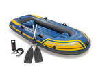 INTEX Challenger 3 Inflatable Boat Set with Pump  Oars  68370EP Free Ship