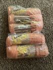Caron DAZZLE AIRE 2640 Rust 3oz Yarn 4 Ply Skeins LOT OF 5 NEW vintage