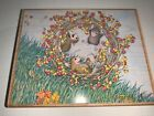 House Mouse Stampabilities Head Over Heels Fall Autumn Thanksgiving Leaves NEW