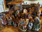 Home Interiors Christmas Nativity Set Stunning Holiday Exquisite Detail 2001