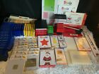 Sizzix Die Lot Personal Die Cutter System Converter Folders Yellow Red Green ++
