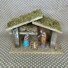 Collezione Moranduzzo NATIVITY SET Made in ITALY 3 piece Holy Family Stable 2016