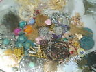 1 POUND SUPER METAL MIX Findings Spacer Beads Pendants Charms FILIGREE Earwires