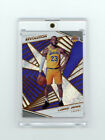 ICONIC FIRST EVER LEBRON JAMES LOS ANGELES LA LAKERS CARD 18-19 REVOLUTION PRIZM