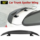 52 Painted BlacK Universal Car Rear Trunk Spoiler Wing Sport Style Reflective