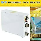 Swimming Pool HeaterSPA Hot Tub Electric Water Heater Thermostat Pump 9KW 380V