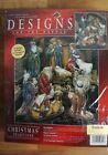 Designs for the Needle Counted Cross Stitch Kit Nativity Figures 319842 NEW