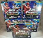 2019 TOPPS CHROME SAPPHIRE -- FACTORY SEALED -- 5 BOX LOT -- Quantity Available
