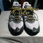 Asics Gel Enduro 6 size 13 running shoes Grey black and yellow great condition