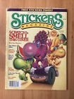 Vtg 1984 STICKERS  STUFF Magazine 3 Scratch Sniff 80s WOW Stickers Included
