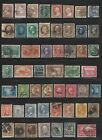 US Stamps Lot 19th Century Used Collection Classics Banknotes Fancy Cancels