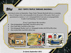 2021 Topps Triple Threads Sealed Hobby Box Trout Tatis Acuna PRESALE!