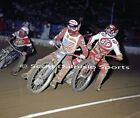 1980'S COOK AND CHRISTIAN 8 X 10 COSTA MESA SPEEDWAY MOTORYCLE PHOTO