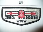 OA Seneca Lodge 394,S-1a, 1959, First Flap,FF,CB,I ndian Mask,30,186,New York,NY