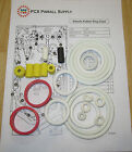 1989 Bally/Midway Atlantis Pinball Machine Rubber Ring Kit