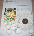 1965 Gottlieb Electra-Pool Pinball Rubber Ring Kit