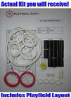 1990 Bally/Midway Dr. Dude Pinball Rubber Ring Kit