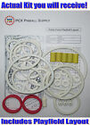 1989 Williams Police Force Pinball Machine Rubber Ring Kit