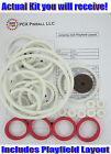1973 Gottlieb Jumping Jack Pinball Rubber Ring Kit