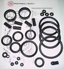 1999 Sega Harley-Davidson Pinball Machine Rubber Ring Kit