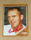 2011 Topps Heritage Frank Thomas REAL RED autograph 62