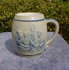 Stoneware Mug by Whites of Utica, Boston Advertising