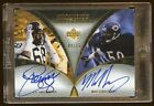 MIKE SINGLETARY L.C. GREENWOOD 07 EXQUSITE DUAL AUTO 25